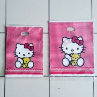 Jual Plastik Oval Kitty Bear 25x35 Murah