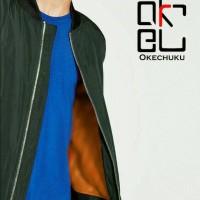 Bomber jokowi jacket orange online