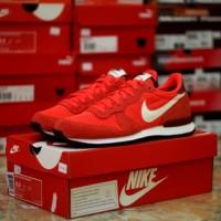Nike sport casual kets internationalist crmsn (sepatu nike tennis run)