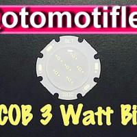 harga Led Hpl Cob 3 Watt Blue/biru Besar 28/20 Mm Tokopedia.com