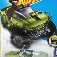 Hot Wheels UNSC WARTHOG HALO Video Game Diecast Mobil Army Militer