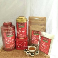 Jual Teh Wisktea Green Tea Red Tea Oolong Tea (Pouch Besar 150 gr) Murah