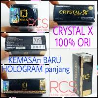 CRYSTAL X ~ CRISTAL X ~ 100 % ORIGINAL ~ LOGO TIMBUL ~ TERJAMIN