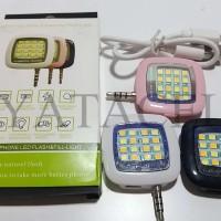 Jual Lampu Selfie / Auto Flash (Blitz) LED Light Selfie / 12 LED 24 Murah
