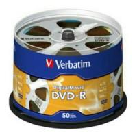 DVD-R 16X Verbatim Digital Movie Cb 50