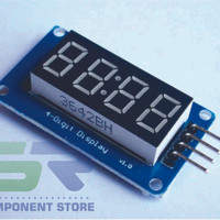 4 Bits Digital Tube LED Display Module With Clock Display TM1637 for A