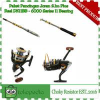 Paket Pancingan Jorang 2.1m Plus Reel DK11BB - 6000 Metal 11 bearing