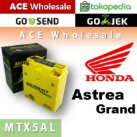 harga Aki Motor MOTOBATT MTX5AL Gel Honda Astrea Grand MOTOBAT MOTTOBAT Tokopedia.com