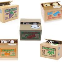 Itazura Mischief Saving Box Cat Coin Bank / Celengan kucing