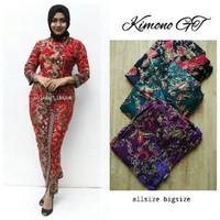 Setelan batik Kimono