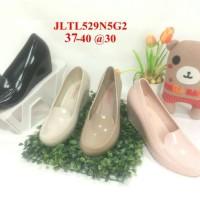 harga 529 Sepatu Cewek Jelly Wedges Bara Bara Barabara Karet Import Tokopedia.com
