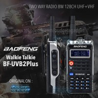 Baofeng Walkie Talkie Two Way Radio 8W 128CH UHF+VHF BF-UVB2 Plus