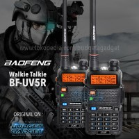 Baofeng Walkie Talkie Dual Band Two Way Radio 5W 128CH UHF+VHF-BF-UV5R