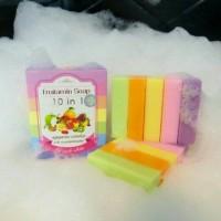 FRUTAMIN SOAP 10 IN 1 / SABUN PEMUTIH FRUTAMIN BUAH