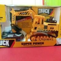truck trek mainan anak mobil truck remot kontrol remot remotan mobil