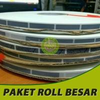 Label gosok 8 x45 mm (Roll Besar)