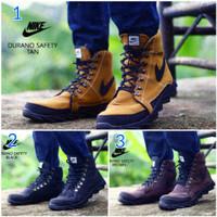 harga Sepatu Pria Nike Durano Safety Boots Kulit Buck Tracking Hiking Kerja Tokopedia.com
