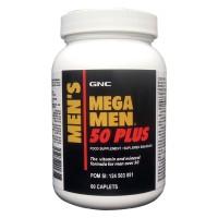 Gnc Mega Men 50 Plus - 60 Kaplet (174911)