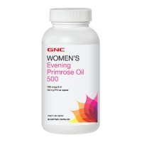 Gnc Womens Evening Primrose Oil 500 - 90 Kapsul Lunak (265267)