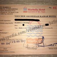 VOUCHER MARBELLA ANYER / BANDUNG