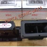 tweter speaker audax ax 93 suara panggil dual koil