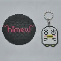[ELIZABETH GINTAMA] Gantungan Kunci/Tas Hama Beads/Mini Beads/Anime