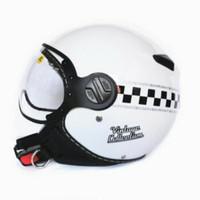 zeus 210 white black DD62 helm retro impor vintage collection classic