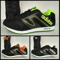 sepatu sport adidas marathon boost premium running gym volly tenis neo