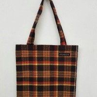 FLANNEL TOTEBAG MOONLIGHT EXCLUSIVE