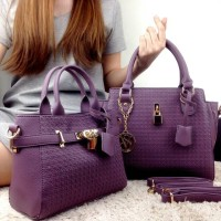 Tas Branded Victoria Secret Wanita 1163-4#2in1