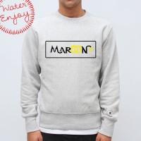 Sweater Maroon 5 #3 - water merch