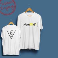 T-Shirt / Baju / Kaos Maroon 5 #9 - water merch