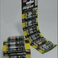 Baterai ABC Super Power AAA 1 Renteng Battery A3 Batere Batre Baterei