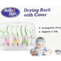 harga Baby Safe Drying Rack With Cover / Pengering Botol Dengan Tutup Tokopedia.com