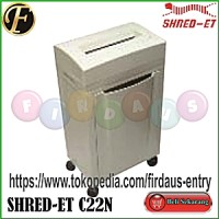SHRED-ET C22N / Mesin Penghancur Kertas / Paper Shredder / Jilid / Laminating