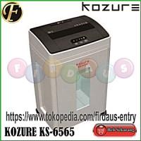 KOZURE KS 6565 / Mesin Penghancur Kertas / Paper Shredder / Jilid / Laminating