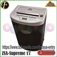 ZSA SUPREME 17 / Mesin Penghancur Kertas / Paper Shredder / Jilid / Laminating