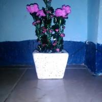 Bunga Ros Pink
