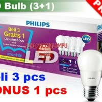 Jual LAMPU PHILLIPS LED 7 WATT PAKETAN Murah