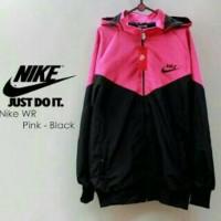Nike Windrunner Pink Black / Jaket Murah / Grosir Jaket