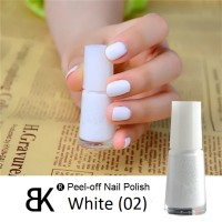 harga WHITE BK Nail Polish Peel Off Water Based Kutek Halal Tokopedia.com