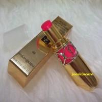 TESTER YSL Lipstick Rouge Volupte Shine Oil In Stick RVS 49