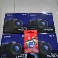 harga CANON POWERSHOT SX420 IS FREE 16 GB RESMI Tokopedia.com