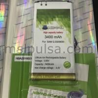 Baterai Hippo Samsung Galaxy S5 I9600 3400mAh