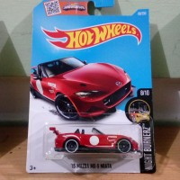 HOT WHEELS - 15 Mazda MX-5 Miata