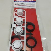 Tamiya Low Height Tire & Wheel Set (Dish)