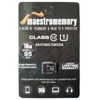 MicroSD HC MAESTRO 16GB C10 UHS-1 95MB/s - GARANSI RESMI V-GEN