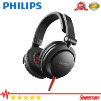 Philips SHL 3300 DJ Monitor Style Black Headphones Original Garansi