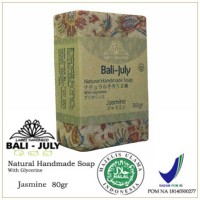 JASMINE NATURAL HANDMADE SOAP/ Sabun Natural BALI JULY