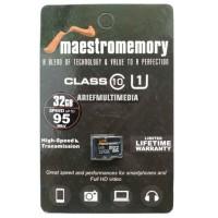 MicroSD HC MAESTRO 32GB C10 UHS-1 95MB/s - GARANSI RESMI V-GEN